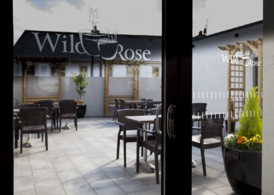 about fort conan hotel wild rose cafe