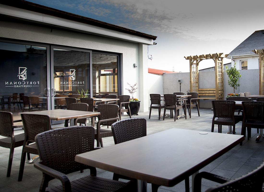 wild rose cafe terrace