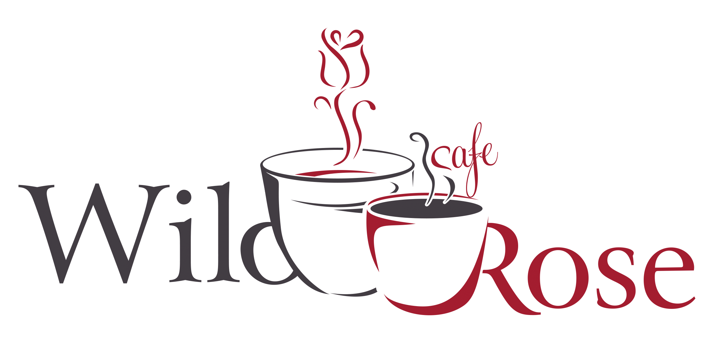 wild rose cafe logo transparent