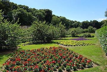 colclough walled gardens