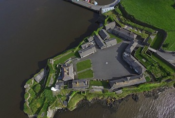 duncannon fort aerial